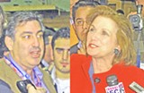 CHERI DELBROCCO - Joe Trippi and Elizabeth Edwards spin for John Edwards.