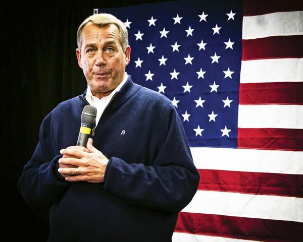 John Boehner - MARK NASSAL | DREAMSTIME.COM