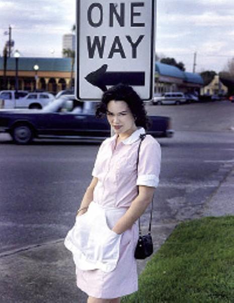 Jonathan Postal's Waitress, Roadside, TX