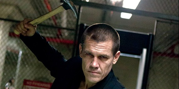 Josh Brolin, as Joe Doucett in Spike Lee's remake of Oldboy, takes vengeance on his captors.