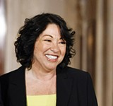 Justice Sonya Sotomayor - REUTERS | LARRY DOWNING