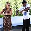 Katie Couric and Lil Buck