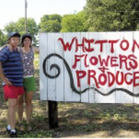 Keith and Jill Forrester of Whitton Flowers & Produce