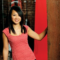 Hot Pics Kelly Li  26 • Server at Elfo's • Engaged • Scorpio Justin Fox Burks