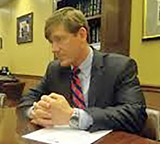 JB - Kelsey in April 2013, after Governor Haslam pulled his voucher bill.