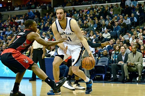 Kosta Koufos and the rest of the Grizzlies frontcourt reserves just became a lot more important.