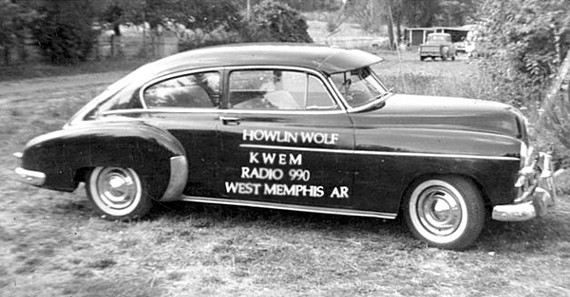KWEM's marketing vehicle