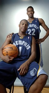 Kyle Lowry and Rudy Gay