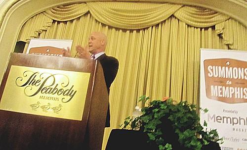 Landrieu at The Peabody