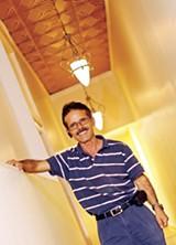 Las Delicias owner Antonio Martinez - JUSTIN FOX BURKS