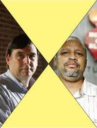 Left: Dean Deyo; Right: Ralph Sutton - JUSTIN FOX BURKS