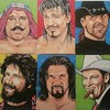 Jerry Lawler Creates Fantastic Wrestling Portraits for Topps Trading Card Set