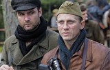 Liev Schreiber and Daniel Craig in Defiance