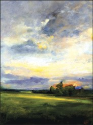 Light on Eastern Clouds by John Torina, at David Lusk Gallery through February 28th