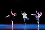 Lil Buck in New Ballet Ensemble's - 2008 production of Springloaded - COURTESY OF NEW BALLET ENSEMBLE & SCHOOL