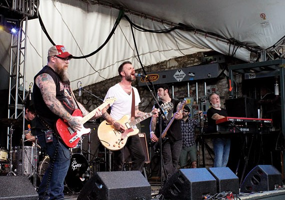 Lucero at this year's South by Southwest Music Festival