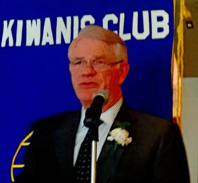 Luttrell at Kiwanis