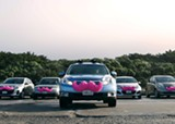 Lyft (pictured) and UberX are still operating in Memphis. - COURTESY OF LYFT