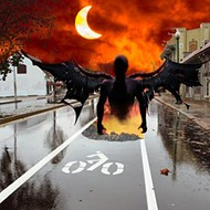Concerns Arise as Gate to Evil Dimension Opens on Madison Avenue Bike Lane