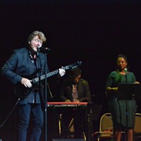 Memphis Music Hall of Fame: 2014 Mac McAnally performing in honor of his friend, Jesse Winchester. Patrick Lantrip
