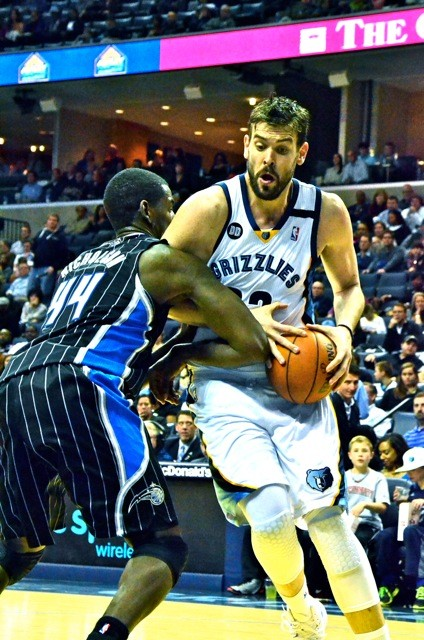 Marc Gasol had a massive weekend.