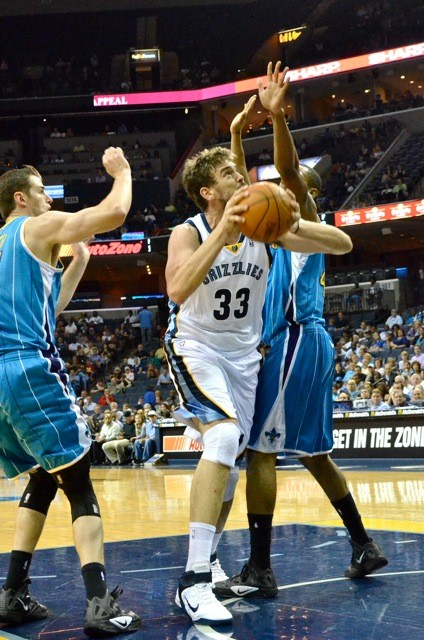 Marc Gasol is playing through the pain, but his physical status is a question heading toward the post-season.