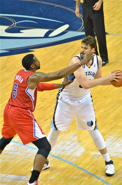 Marc Gasol is scoreless in the second half so far this series.