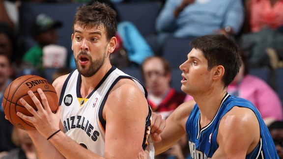 Marc Gasol looks to get his offense back on track against the Magic tonight.