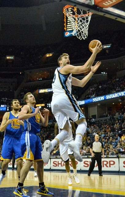 Marc Gasol may have moved to the top of the teams pecking order.