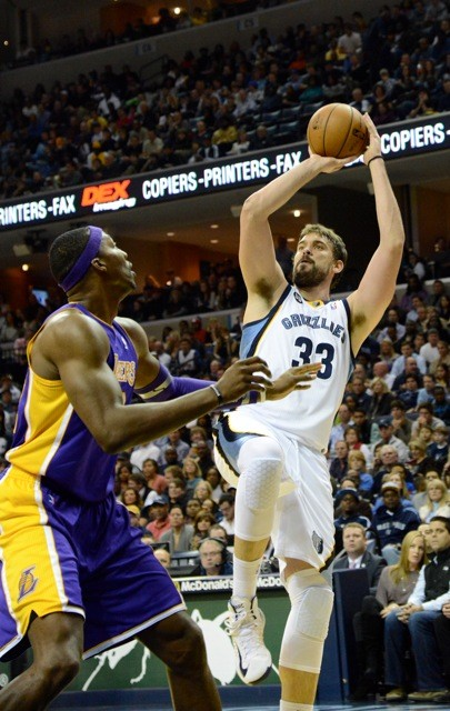 Marc Gasol outdueled Dwight Howard in a battle of the leagues two best centers.