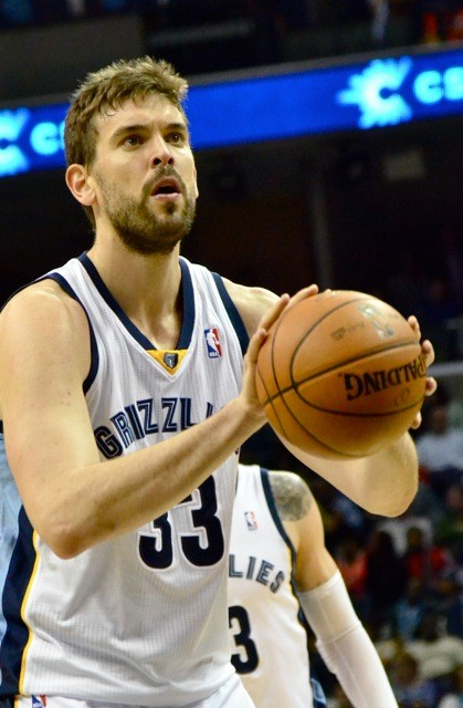 Marc Gasol put up 20-10 in last nights win over the Jazz.