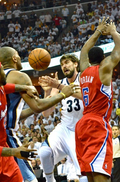 Marc Gasol scored 19 of the Grizzlies 72 points, but the Clippers bench made the decisive plays in Game 7.