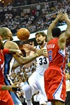 Marc Gasol scored 19 of the Grizzlies' 72 points, but the Clippers' bench made the decisive plays in Game 7.