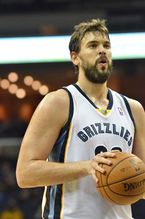 Marc Gasol went down with a knee injury Friday night, and no one knows yet how long he will be absent.