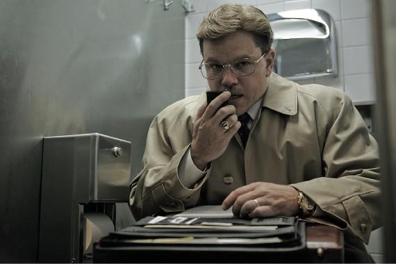 Matt Damon in The Informant!