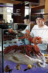 PHOTO: JUSTIN FOX BURKS - Matthew Crone, chef at Sole Restaurant & Raw Bar