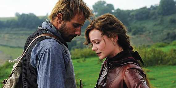 Matthias Schoenaerts and Carey Mulligan star in Far from the Madding Crowd