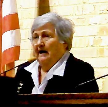 Mayor Sharon Goldsworthy - JACKSON BAKER