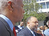 Mayor Willie Herenton and city attorney Charles Carpenter mounted a challenge to early voting. - JACKSON BAKER