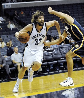 Meet the new Gasol: Pau's burly brother Marc - BY LARRY KUZNIEWSKI