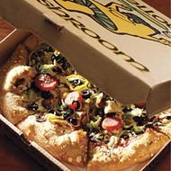 Mega-Veggie Pizza with Vegan Cheese at Mellow Mushroom
