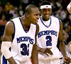 "Memphis' ""Double Ds"": Joey Dorsey and Robert Dozier"