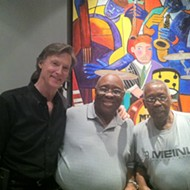 The Funky Drummer! Stubblefield and Starks at Memphis Drum Shop