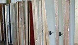 Memphis Heritage's inventory of old doors.