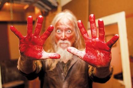 "Memphis puppeteer Jimmy Crosthwait in ""Savage County"" - JUSTIN FOX BURKS"