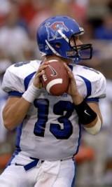 Memphis quarterback Martin Hankins