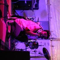 Memphis rapper Cities Aviv at Austin's SXSW festival.