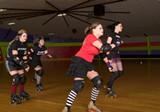 Memphis Roller Derby skaters