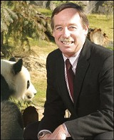 Memphis Zoo president Chuck Brady - BY JUSTIN FOX BURKS