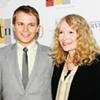 Mia Farrow and Son at Rhodes